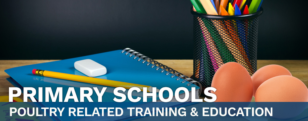 Primary Schools - Poultry Related Training & Education