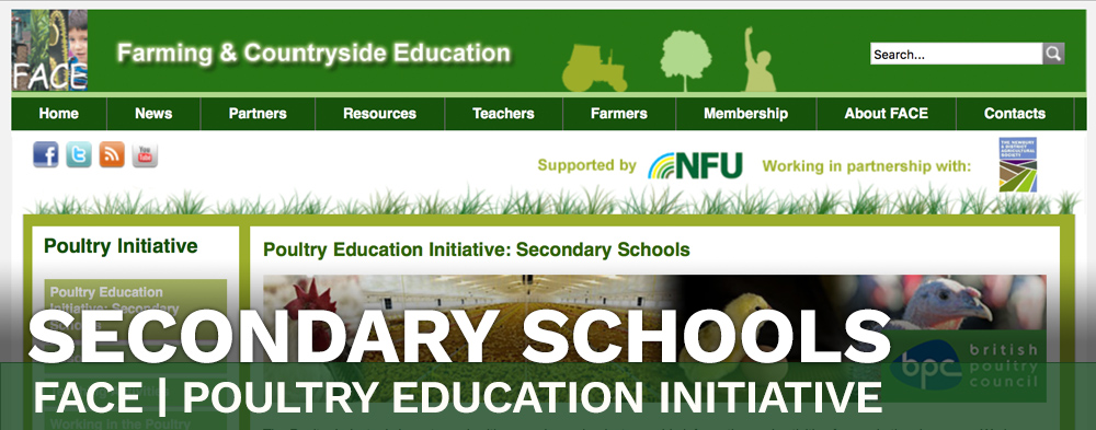 Secondary Schools - FACE - Poultry Education Initiative