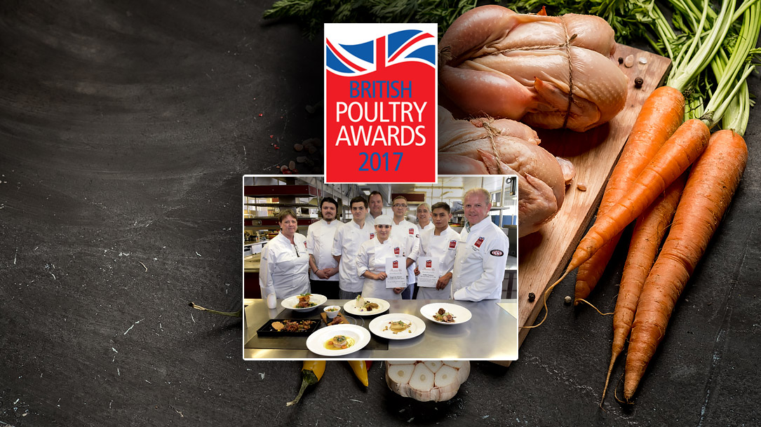 British Turkey Student Chef 2017 Winners Announced
