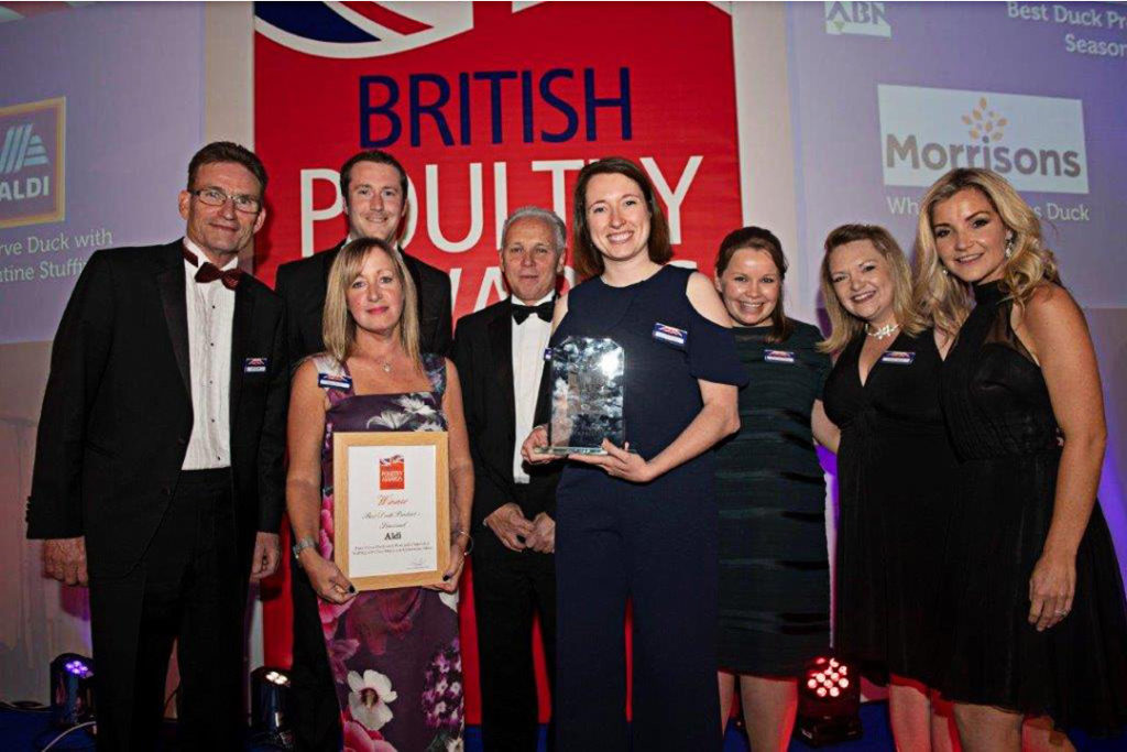 British Poultry Awards 2018 - Best Duck Product - Seasonal - Aldi