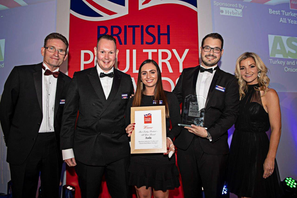 British Poultry Awards 2018 - Best Turkey Product - AYR