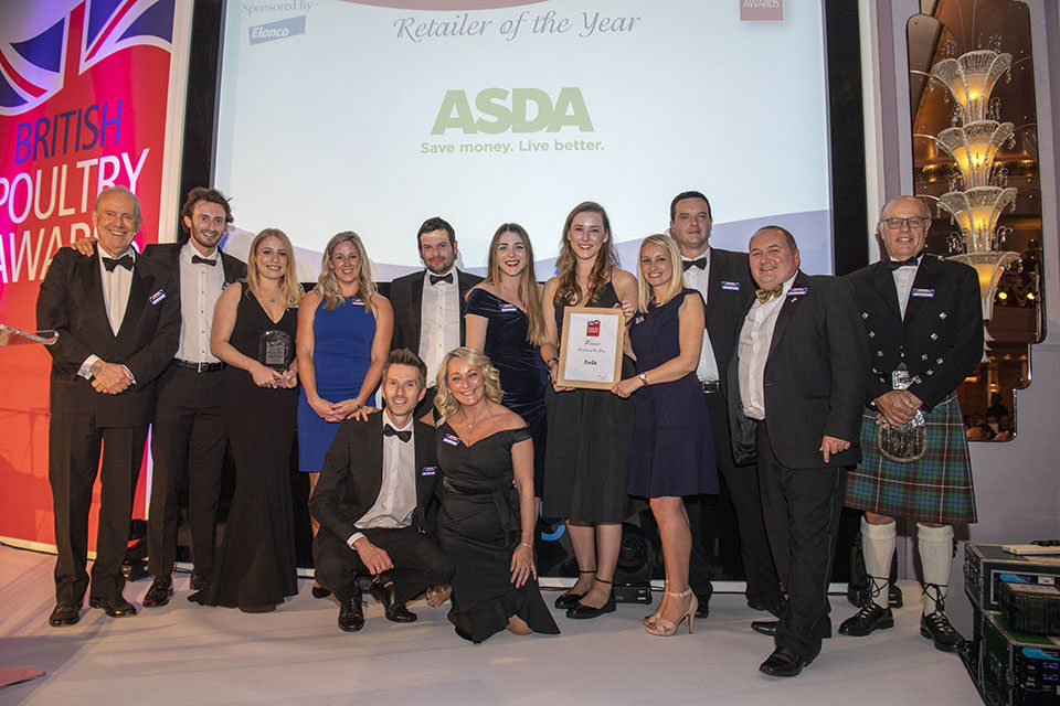 Asda crowned Poultry Retailer of the Year 2019