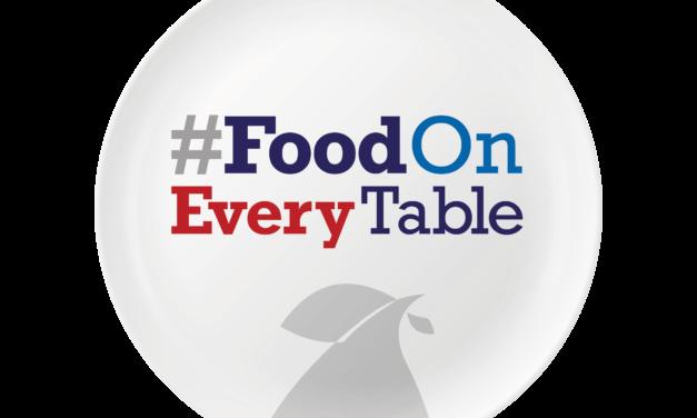 Introducing #FoodOnEveryTable